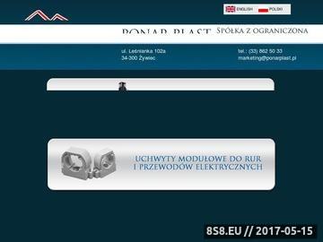 Zrzut strony Wtryskarki i prasy hydrauliczne - Ponarplast