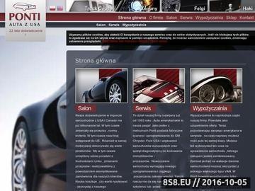 Zrzut strony Firma usługowo-handlowa