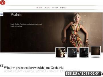 Zrzut strony Poprawki Krawieckie i Naprawa Obuwia na Gocławiu