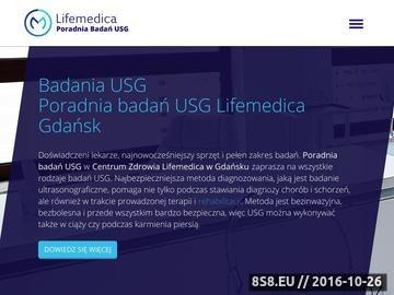 Zrzut strony Badania USG doppler, brzucha, tarczycy
