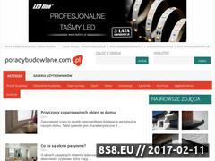 Miniaturka domeny poradybudowlane.com.pl