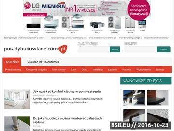 Zrzut strony Poradybudowlane.com.pl - porady i inspiracje budowlane