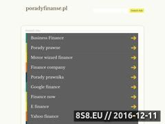 Miniaturka domeny poradyfinanse.pl