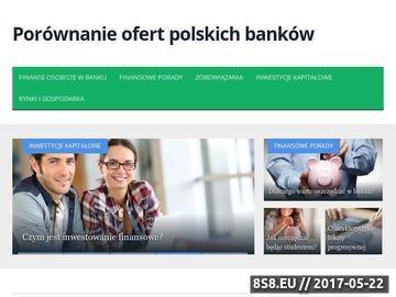Zrzut strony Ranking lokat bankowych