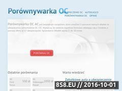 Miniaturka domeny porownywarka-oc.pl