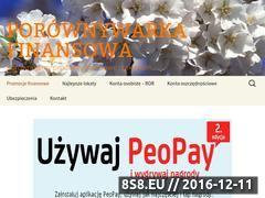 Miniaturka domeny www.porownywarkafinansowa.com
