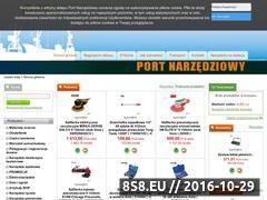 Miniaturka domeny www.port-narzedziowy.pl