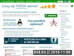 Miniaturka domeny portal-konsumenta.pl