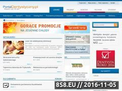 Miniaturka domeny portaldentystyczny.pl