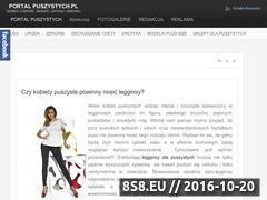 Miniaturka domeny portalpuszystych.pl