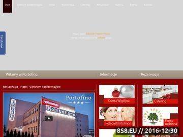 Zrzut strony Usługi restauracji, noclegli, organizacje imprez oraz konferencje