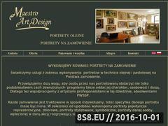 Miniaturka domeny www.portretynazamowienie.galeria-mad.pl
