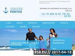 Miniaturka domeny www.portus.com.pl