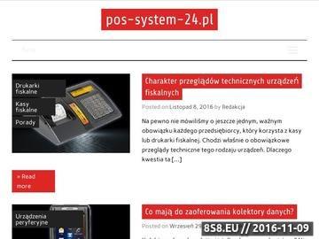 Zrzut strony Opisy urządzeń elektronicznych używanych w sklepach