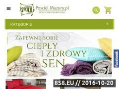Miniaturka domeny posciel.mazury.pl