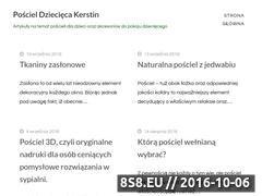 Miniaturka domeny poscieldzieciecakerstin.pl