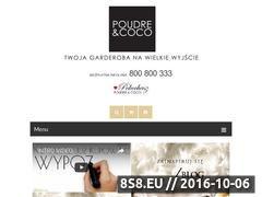 Miniaturka domeny www.poudrecoco.pl