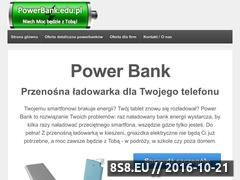 Miniaturka domeny powerbank.edu.pl