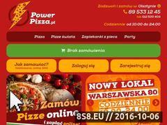Miniaturka domeny powerpizza.pl
