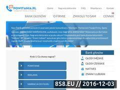 Miniaturka domeny powitania.pl