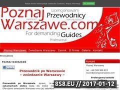 Thumbnail of Przewodnik po Warszawie - PoznajWarszawe.com Website
