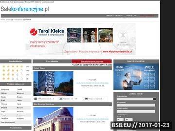Zrzut strony Wykaz sal konferencyjnych w Poznaniu i okolicy