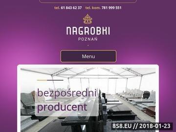 Zrzut strony Nagrobki Poznań