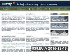 Miniaturka domeny pozwy.pl