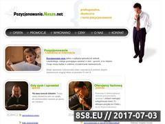 Miniaturka domeny www.pozycjonowanie.nasze.net
