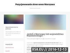 Miniaturka domeny pozycjonowanie.tv