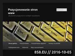 Miniaturka domeny pozycjonowanie.zareklamowali.pl