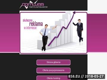 Zrzut strony Reklama w Internecie na wysokim poziomie