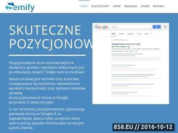 Zrzut strony Pozycjonowanie stron Kraków