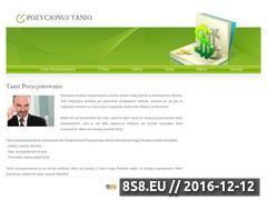 Miniaturka domeny www.pozycjonuj-tanio.pl