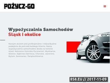 Zrzut strony Wypożyczalnia samochodów na Śląsku