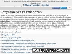 Miniaturka domeny pozyczka-bez-zaswiadczen.pl