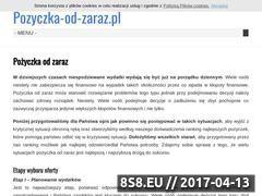 Miniaturka domeny pozyczka-od-zaraz.pl