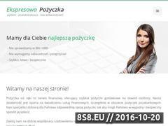 Miniaturka domeny pozyczki-bez-bik.kredytek.pl