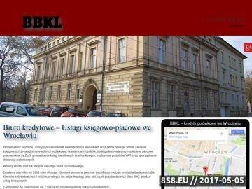 Zrzut strony BBKL kredyt inwestycyjny