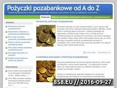 Miniaturka domeny www.pozyczkipozabankowe.pl