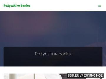 Zrzut strony Pożyczki