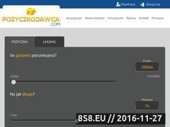 Miniaturka domeny www.pozyczkodawca.com