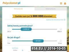Miniaturka Pożyczki pozabankowe - pożyczkomat.pl (www.pozyczkomat.pl)