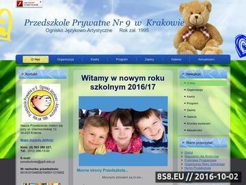 Zrzut strony Przedszkole prywatne