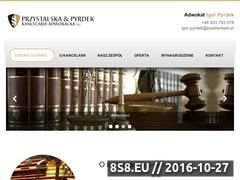 Miniaturka domeny ppadwokaci.pl