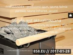 Miniaturka Sauny (www.pphwandex.pl)