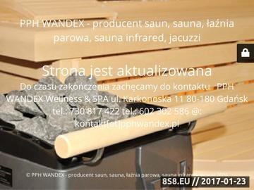 Zrzut strony Sauny producent