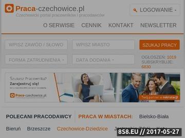 Zrzut strony Czechowice-Dziedzice - portal pracy