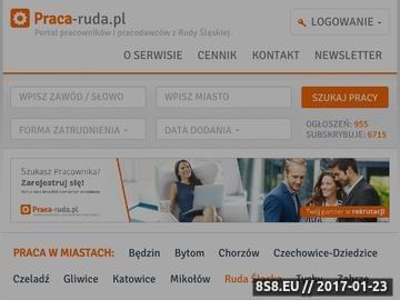 Zrzut strony Ruda Śląska - portal pracy