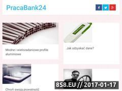 Miniaturka domeny pracabank24.pl